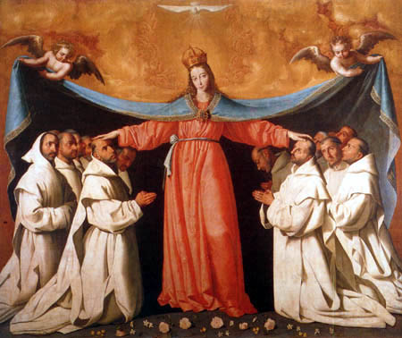 Francisco de Zurbarán - Virgin of the Carthusians