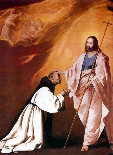 Francisco de Zurbarán - Die Vision des Fray Andrés Salmerón