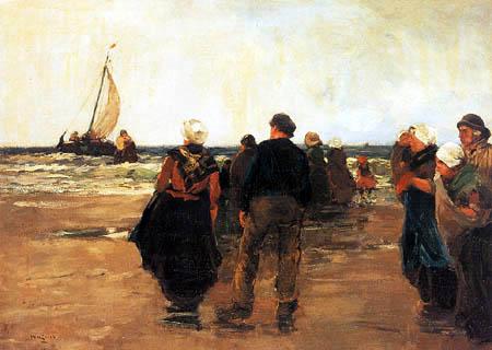 Willem de Zwart - The Return of the Fleet