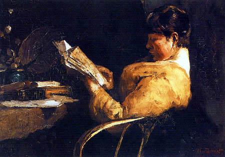Willem de Zwart - A Woman Reading