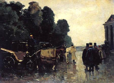 Willem de Zwart - Horse cab